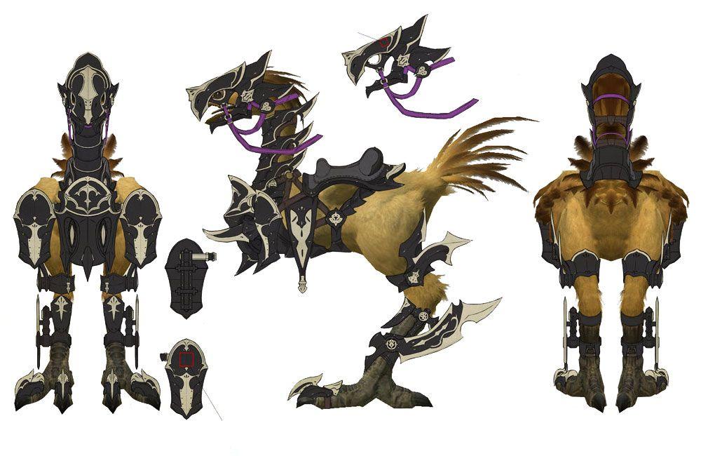Chocobo Dragoon Ffxiv Final Fantasy Xiv Final Fantasy Final Fantasy 14