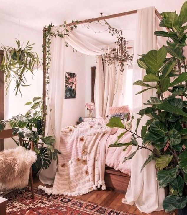 30+ Pretty Pink Bedroom Design Ideas That Inspire You is part of  - People with flair for the unusual should consider pink for the bedroom  Different shades of pink can be used for […]