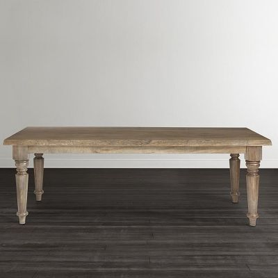 Bassett 4015 4290le Made 90 Inch Farmhouse Table Available At