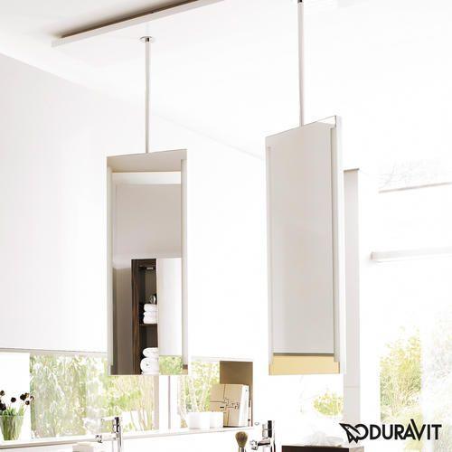 Duravit 2nd Floor Miroir double de salle de bain suspendu avec