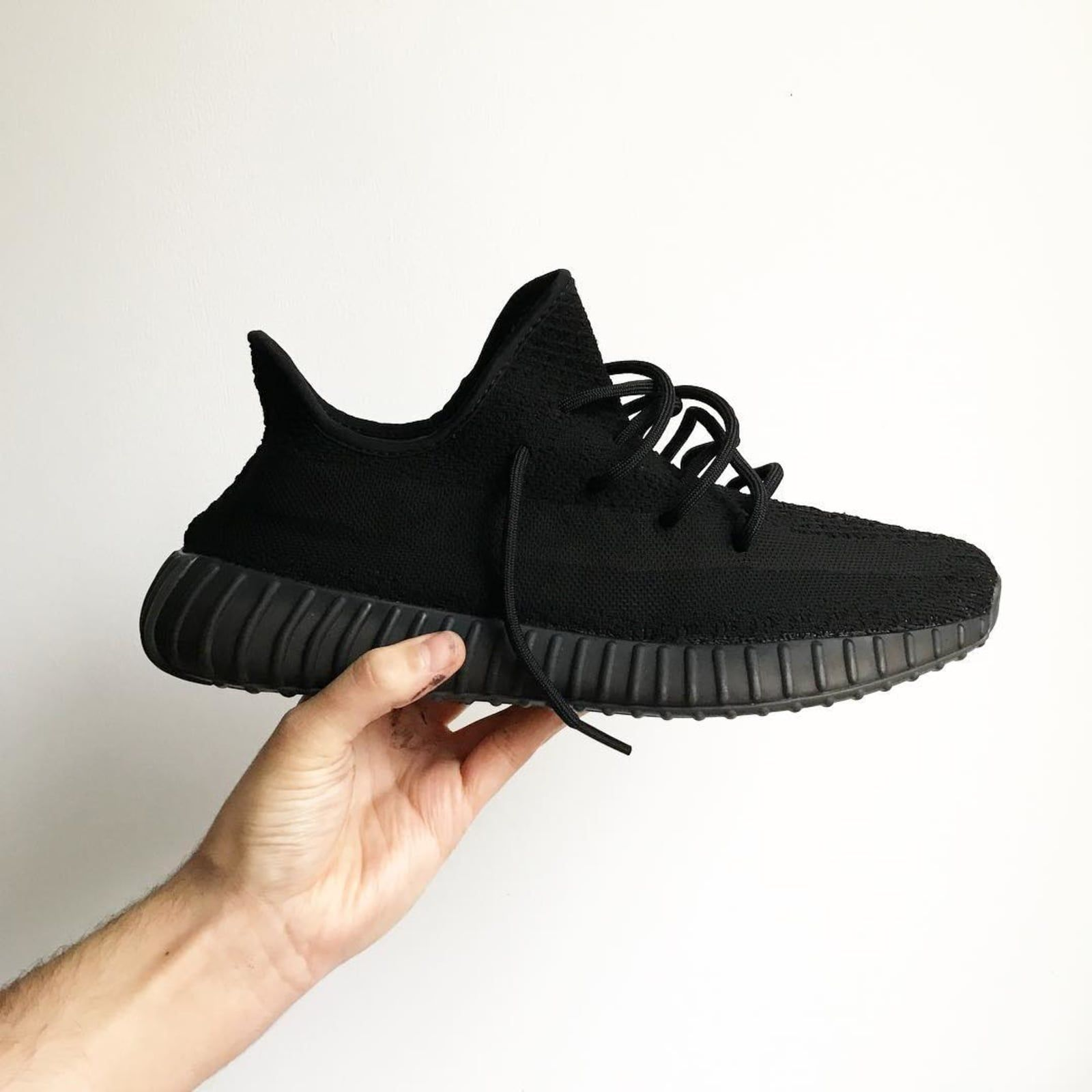 92b506da1 Adidas Yeezy 350 Boost V2 Customs  Blackout by DavidZ Custom - The Best Adidas  Yeezy 350 Boost V2 Customs