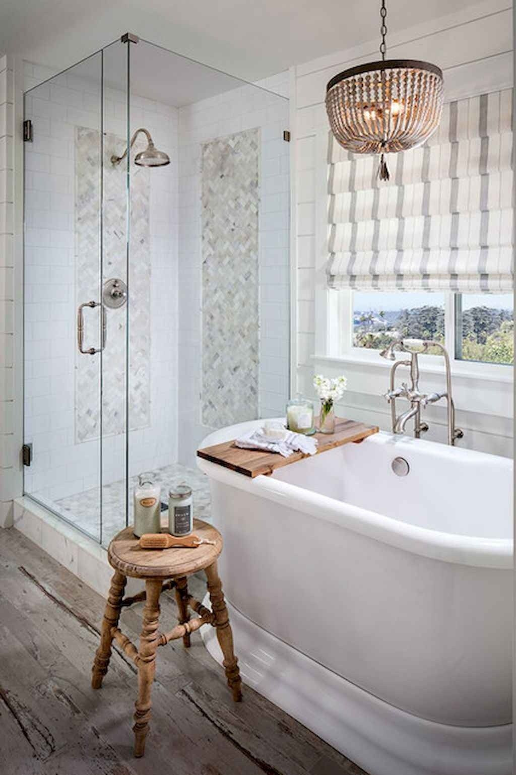 150 Amazing Small Farmhouse Bathroom Decor Ideas And ... on Amazing Small Bathrooms  id=32434