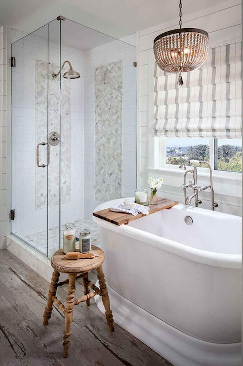 150 Amazing Small Farmhouse Bathroom Decor Ideas And ... on Amazing Small Bathrooms  id=32434