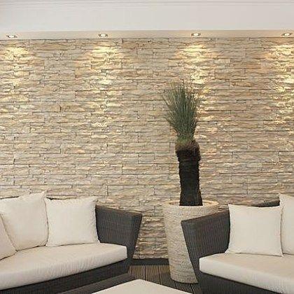 Utilizaci n de piedra en fachadas modernas caba as for Piedra para decorar paredes interiores