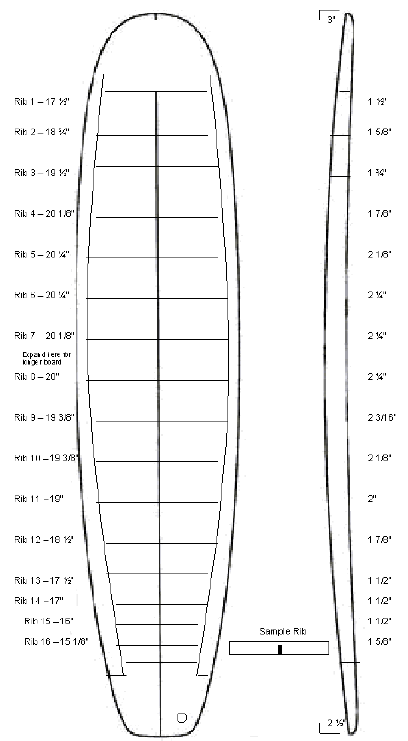 Free plans for hollow wood surfboard templates shapers bay free plans for hollow wood surfboard templates pronofoot35fo Image collections