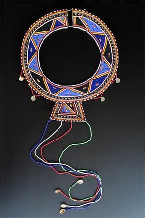 Maasai Tribal Jewelry Wedding Necklace