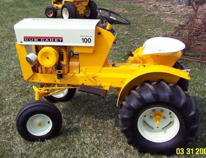 Vintage Garden Tractors Cub Cadet Google Search