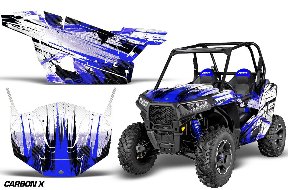 Polaris rzr 900 s amr racing sticker graphic kit
