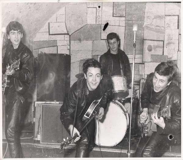 "1961 Print  8.5 x 11/"" April The Beatles at the Top Ten Club"