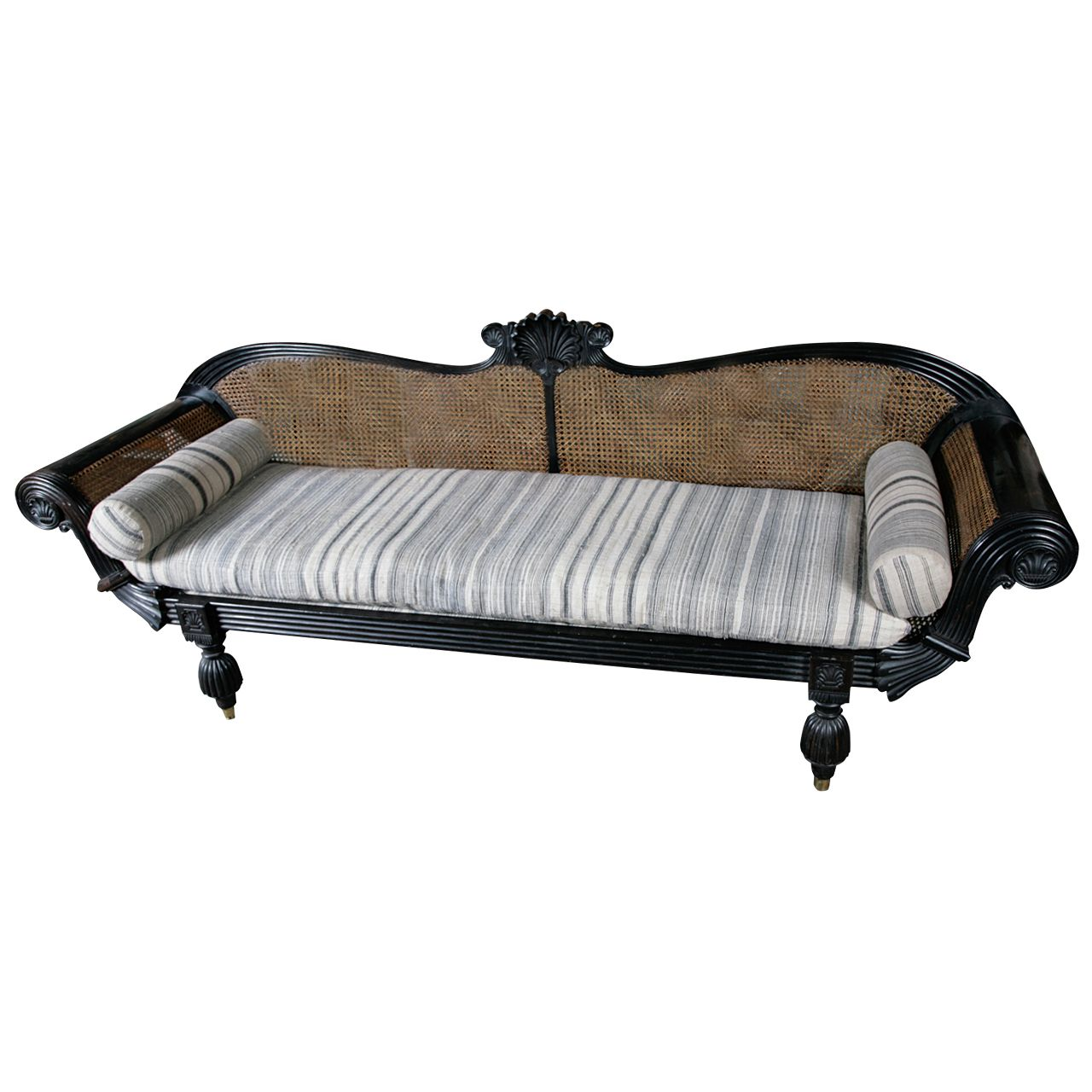 Celyon dutch ebony day bed dutch settees and spare room office