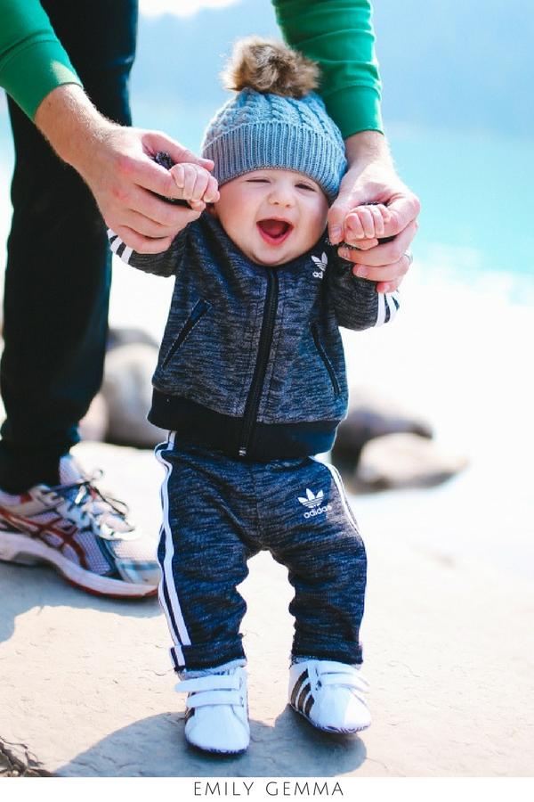 Adidas Outfit One Year Old Boy First Birthday Luke Gemma John Emily EmilyGemma TheSweetestThingBlog Family BabyLuke