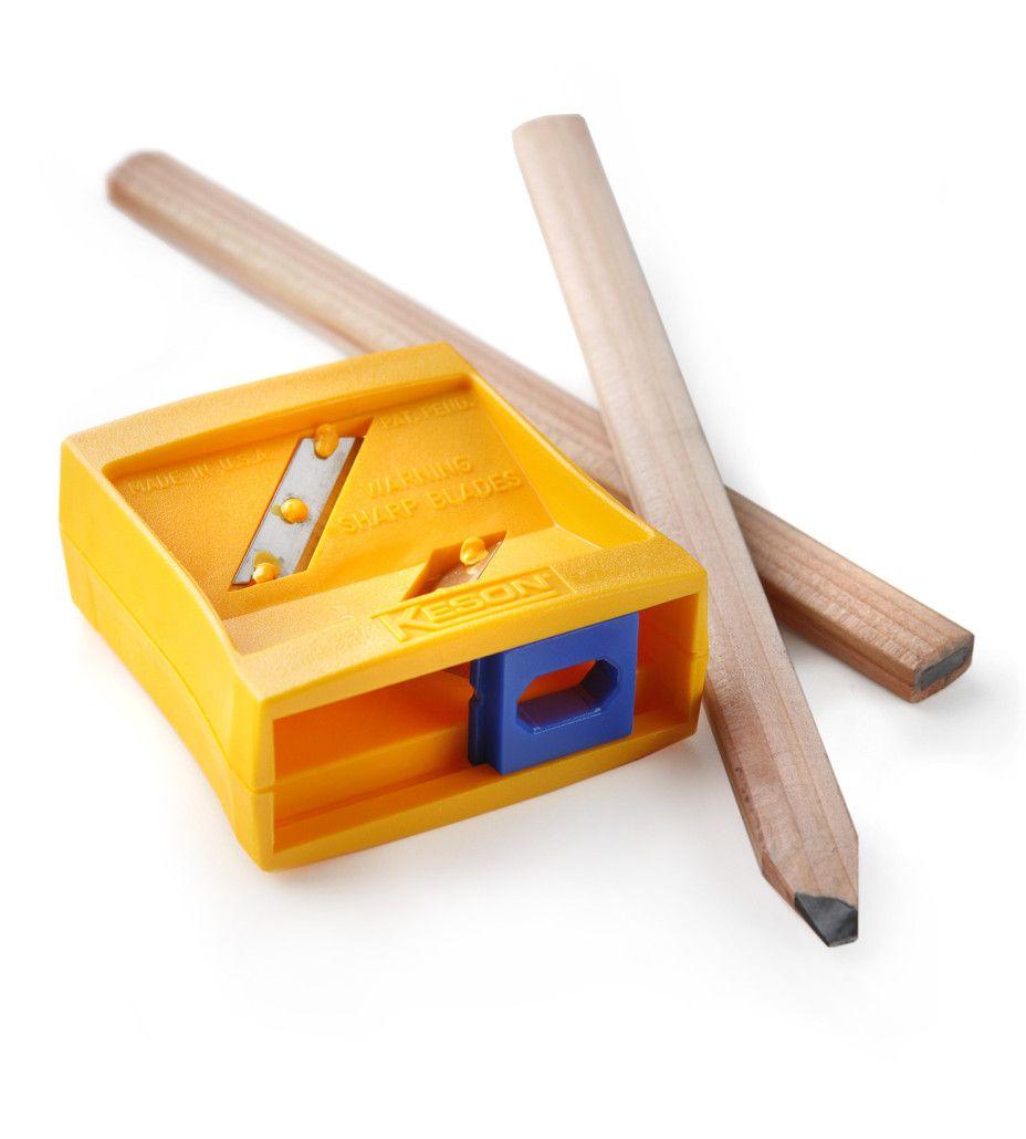 How To Sharpen A Carpenter Pencil Carpenters Pencil Pencil Sharpener Woodworking Kits