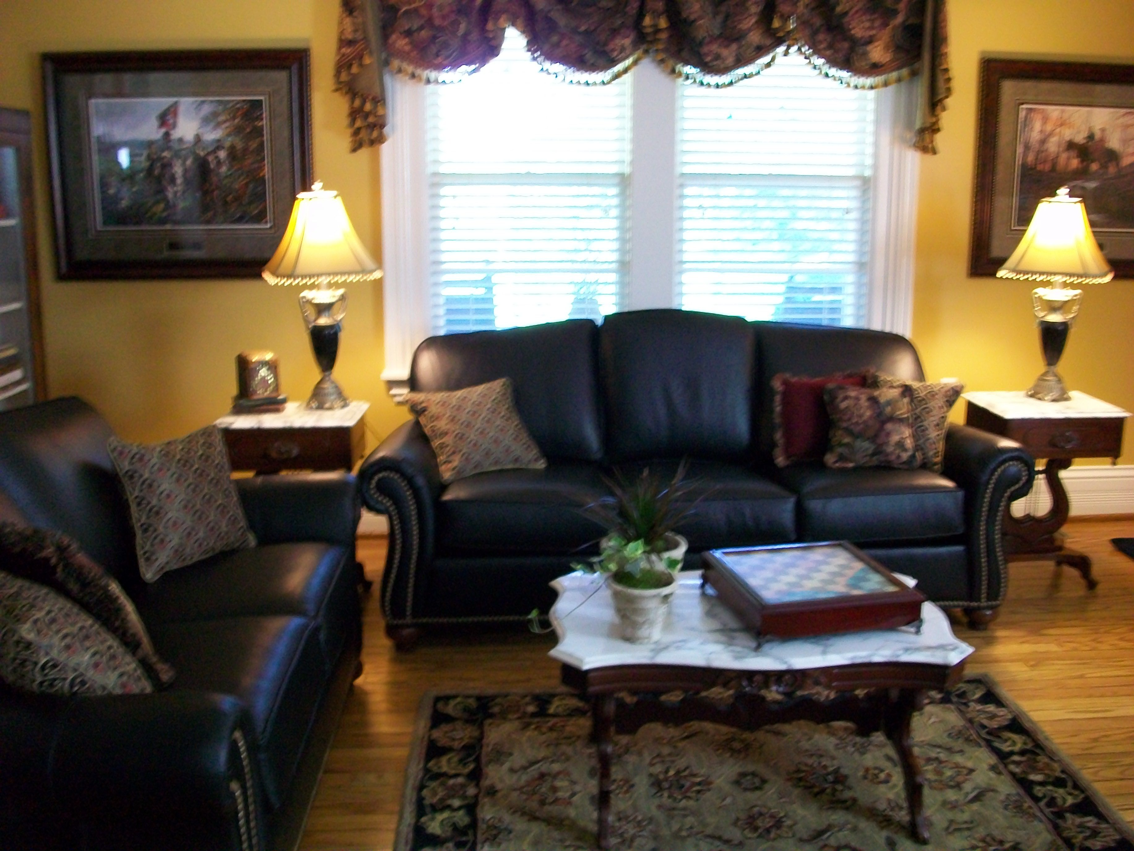 Formal Living Room | Cozy Living Spaces and Dens ...