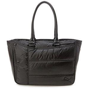 99ec3f75e3a5 BN Puma Chill Puffer Small HandBag Shopper Tote Bag Shiny Black ...