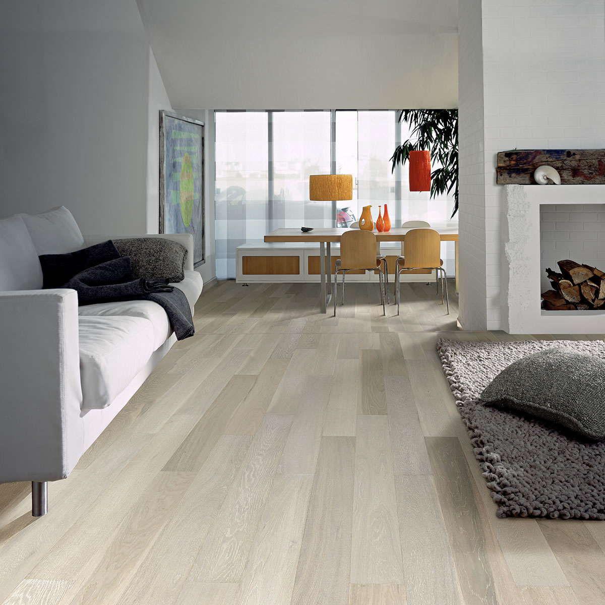 Room Kahrs Oak Arctic Engineered Wood Flooring