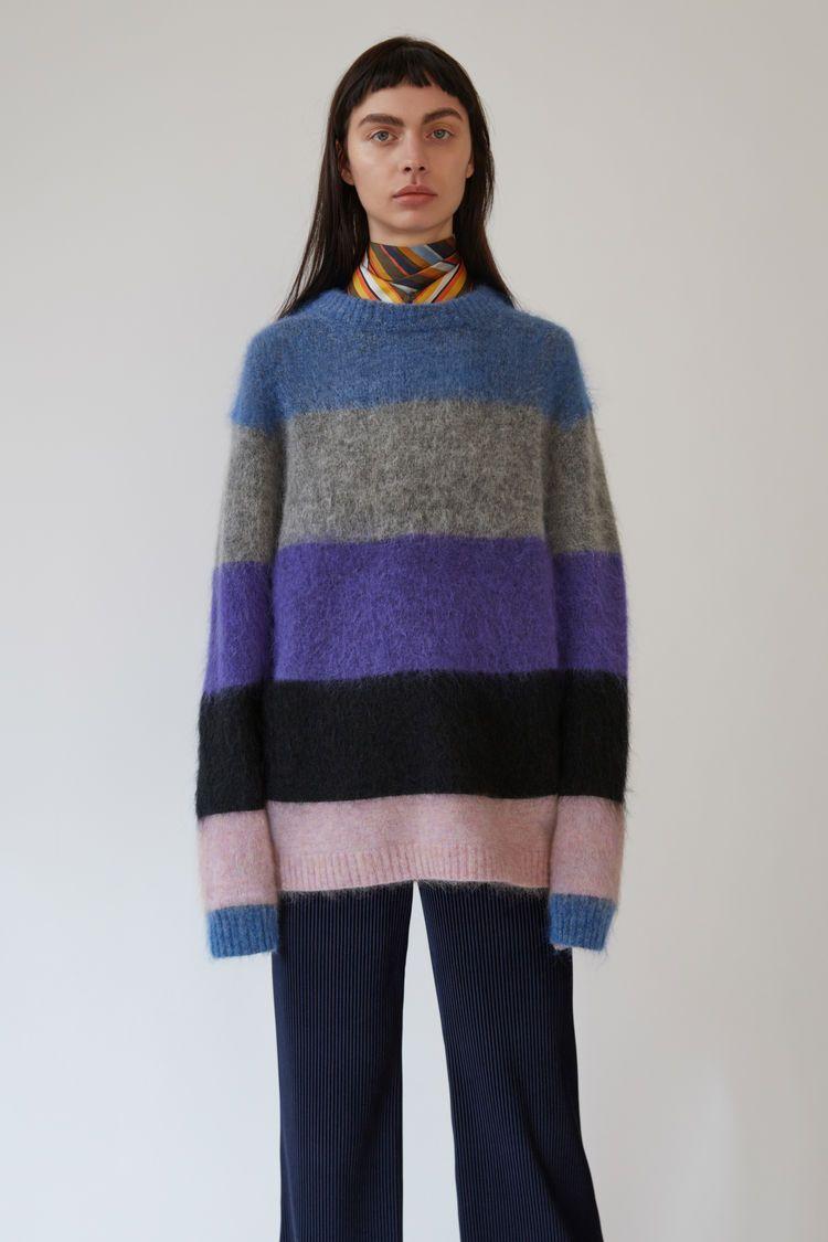 15a9e07f47 Acne mix stripe knit