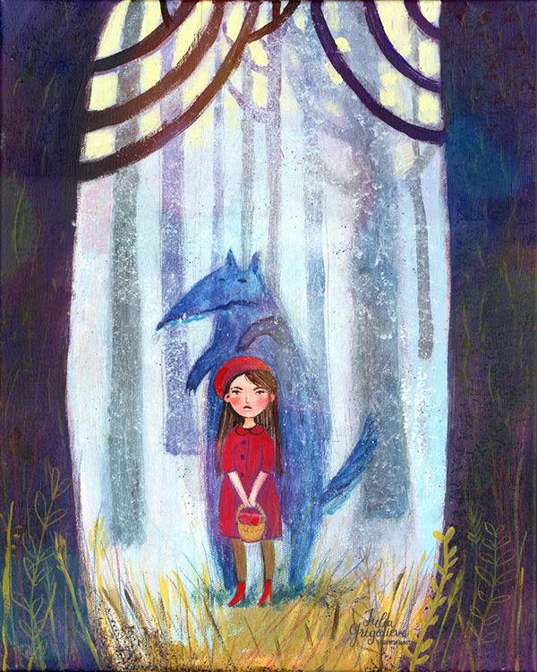 Little Red Riding Hood and Other Wolfish Things: Julia Grigorieva
