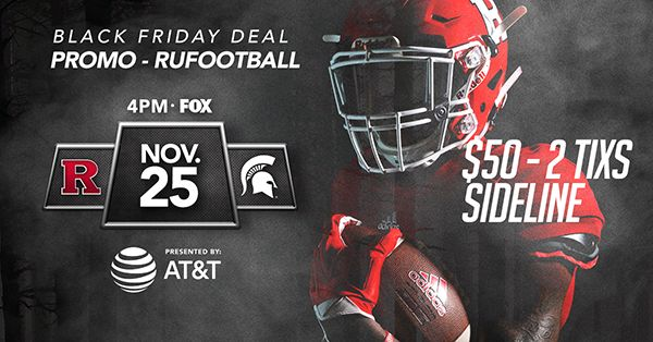 Rutgers Athletics Email Deal Promo Sports Graphics Video Game Covers