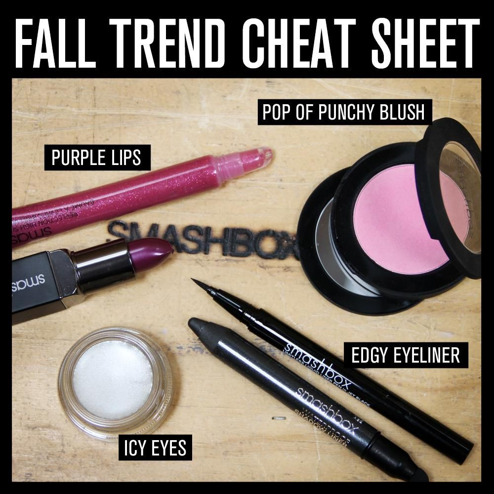 Will you be rocking edgy eyeliner or icy eyes this fall?