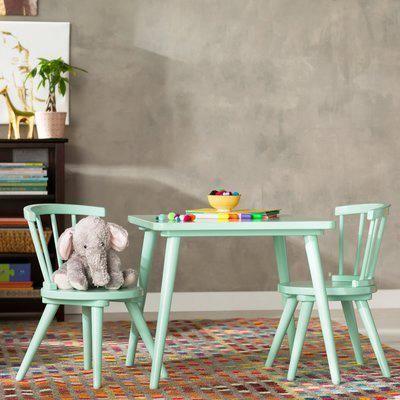 Mack Amp Milo Nicklas Windsor 3 Piece Table And Chair Set