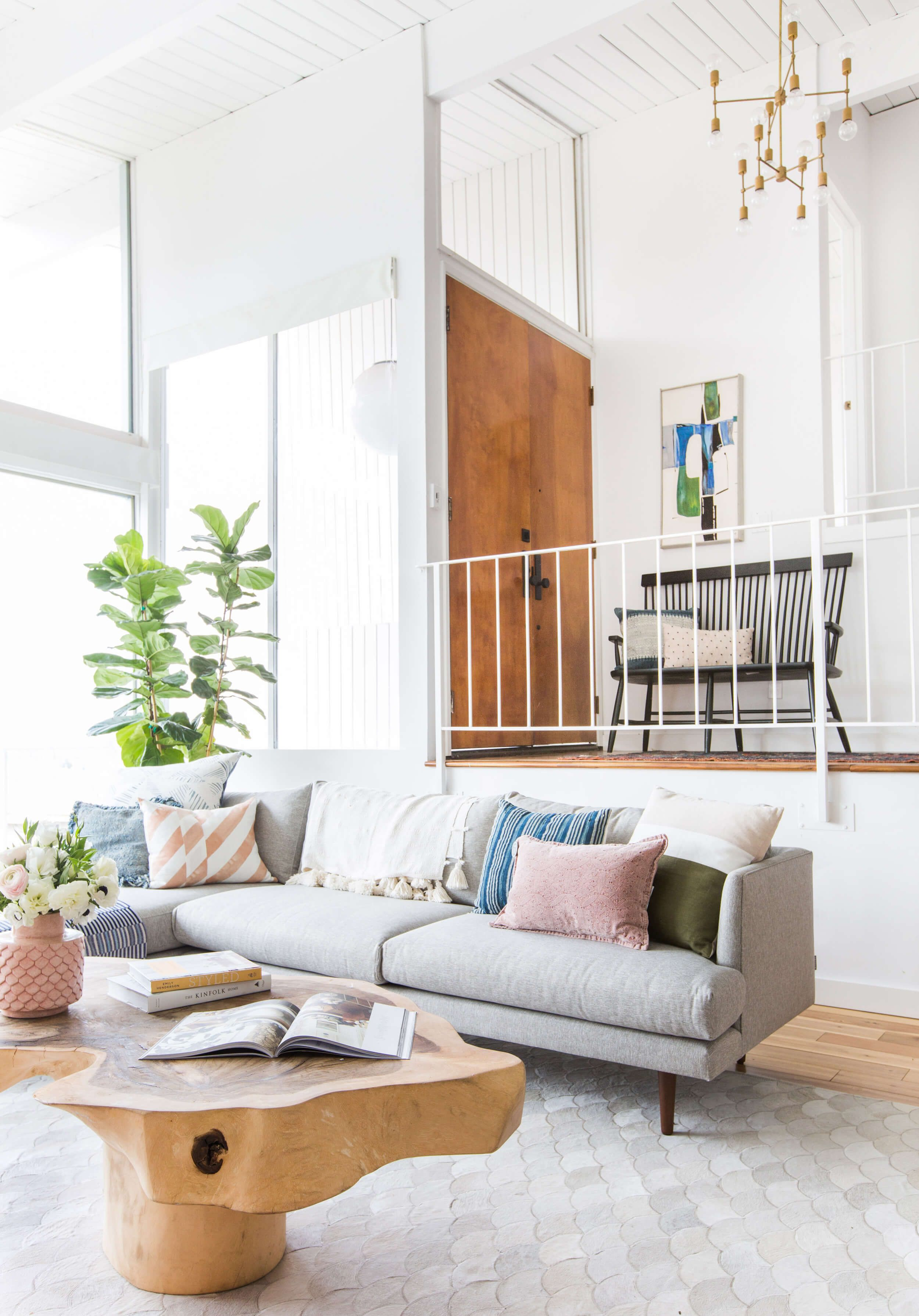 How We Styled Our Living Room To Sell Home Pinterest