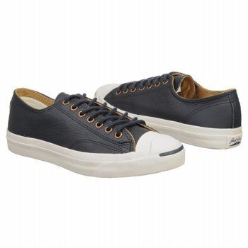 49111a7a5cf65 Converse Jack Purcell LTT Ox Navy Blue Leather Sneakers: Amazon.de ...