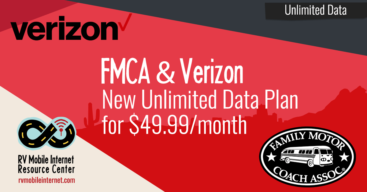 FMCA Rolls Out Unlimited Verizon Hotspot Plan | RV Life