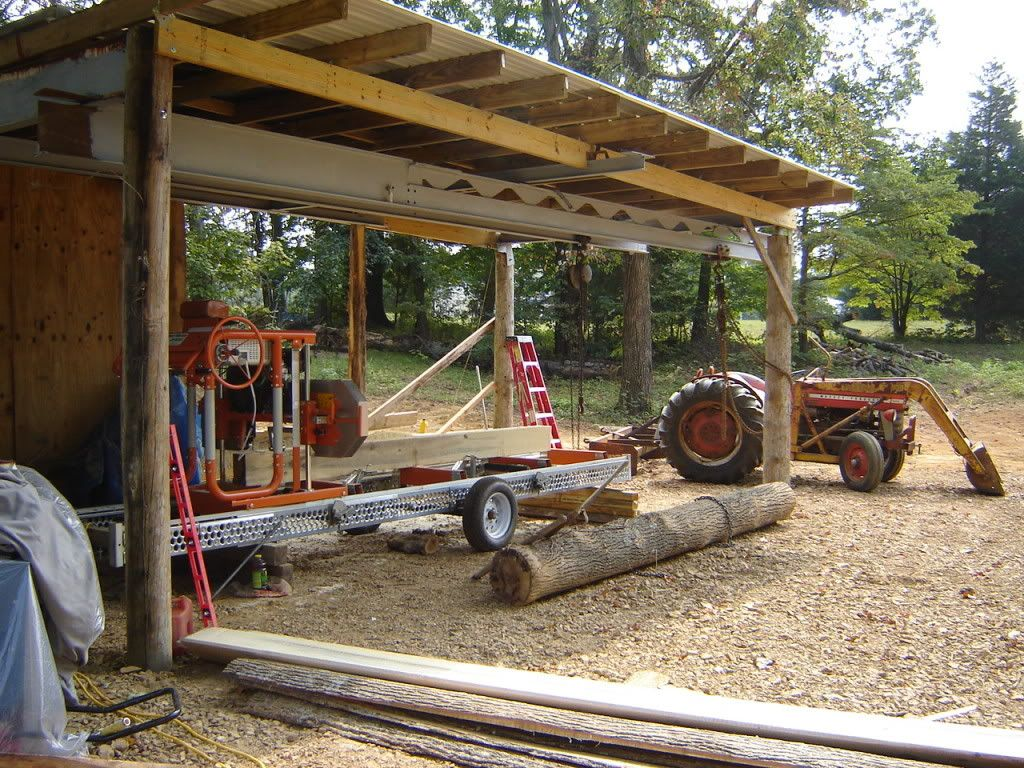 Also building a sawmill shed    | Portable Sawmills & Forestry