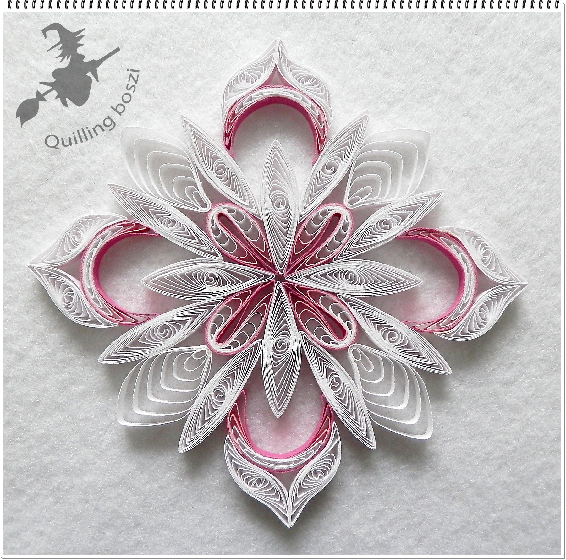 Pin By Treena Ackerman On Quilling Snowflakes Paper border=