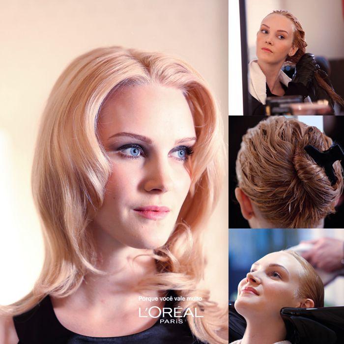 Tutorial coloração #loreal #beauty #hair #cabelo #penteado #diy #tutorial #babyliss #beleza #blonde #loira
