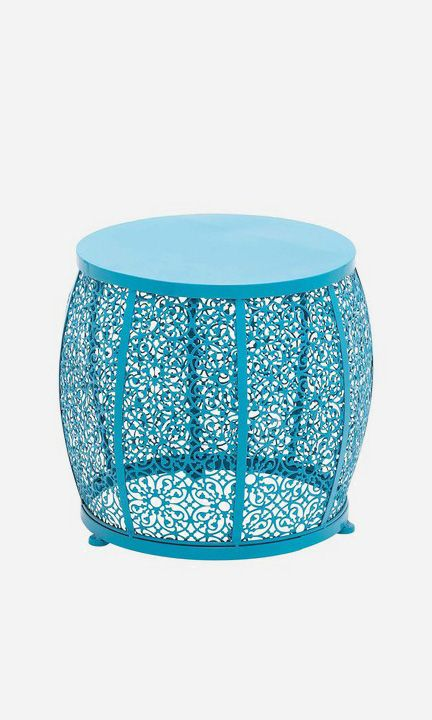 Metal Teal Accent Table Metal Accent Table End Tables
