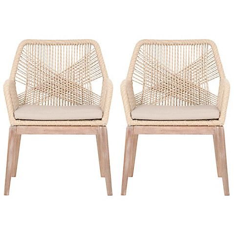 Bilson Armchairs Sand 999 00 Woven Dining Chairs Wicker