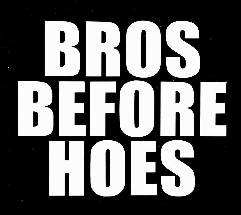 Black hoes white bros