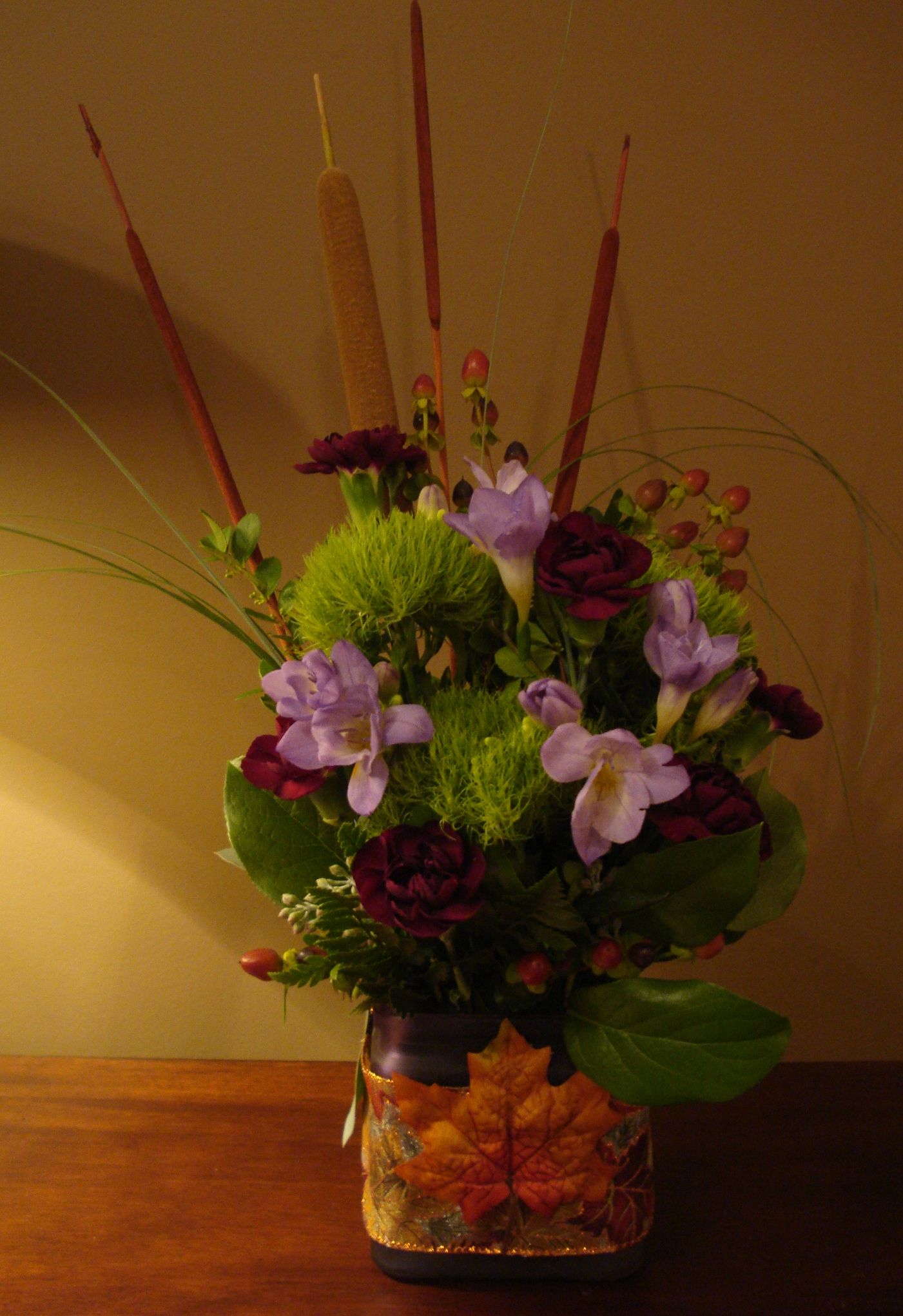 Woodsy Arrangement My Birthday Flowers Jennys Flowers Pinterest