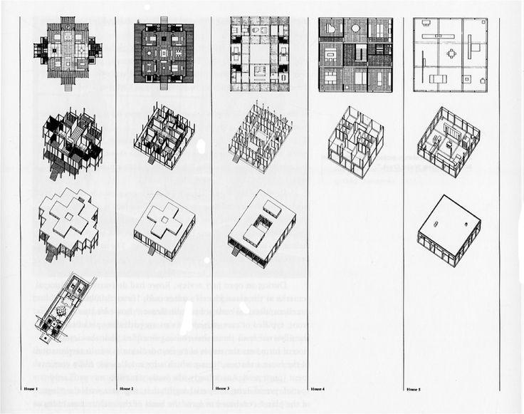 Image result for nine square hejduk Grid architecture