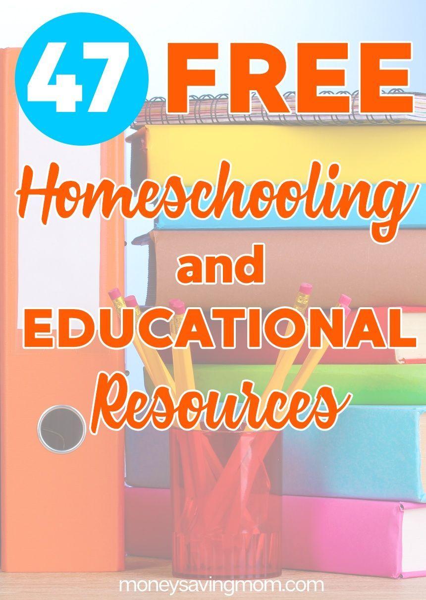 HUGE List of FREE Homeschool Curriculum & Resources (47 freebies ...