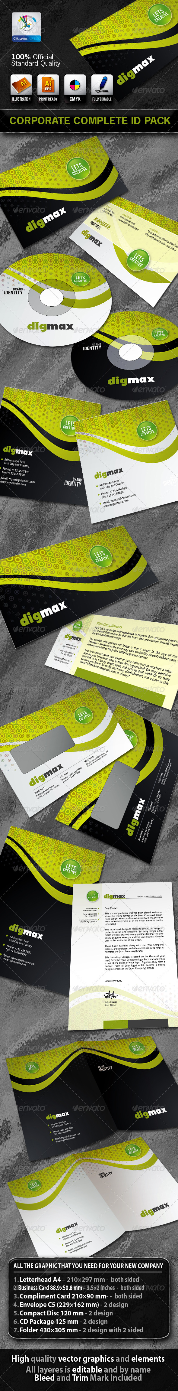 DigMax Business Corporate ID Pack