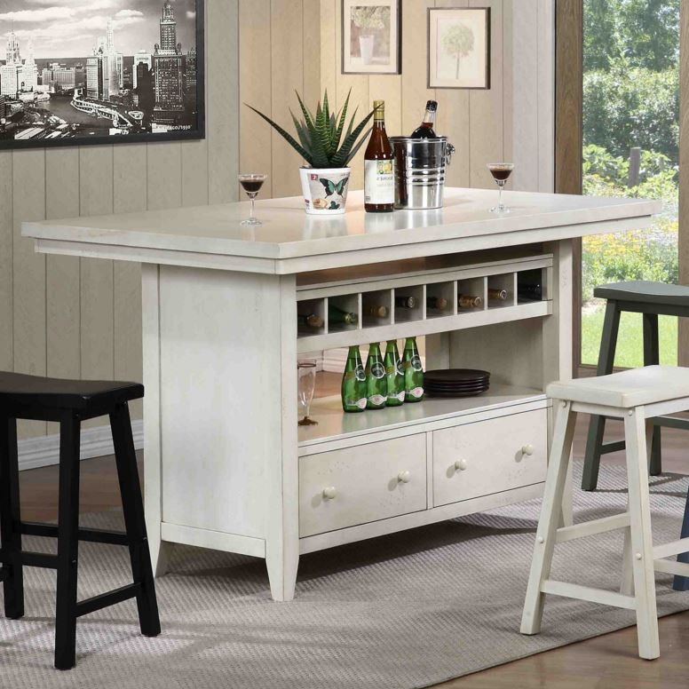 Eci Furniture Reina Kitchen Island