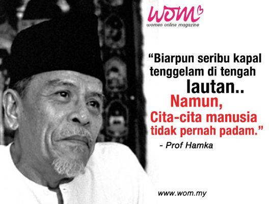 Kata Kata Dari Prof Hamka Yang Amat Bermakna Untuk Panduan Kita