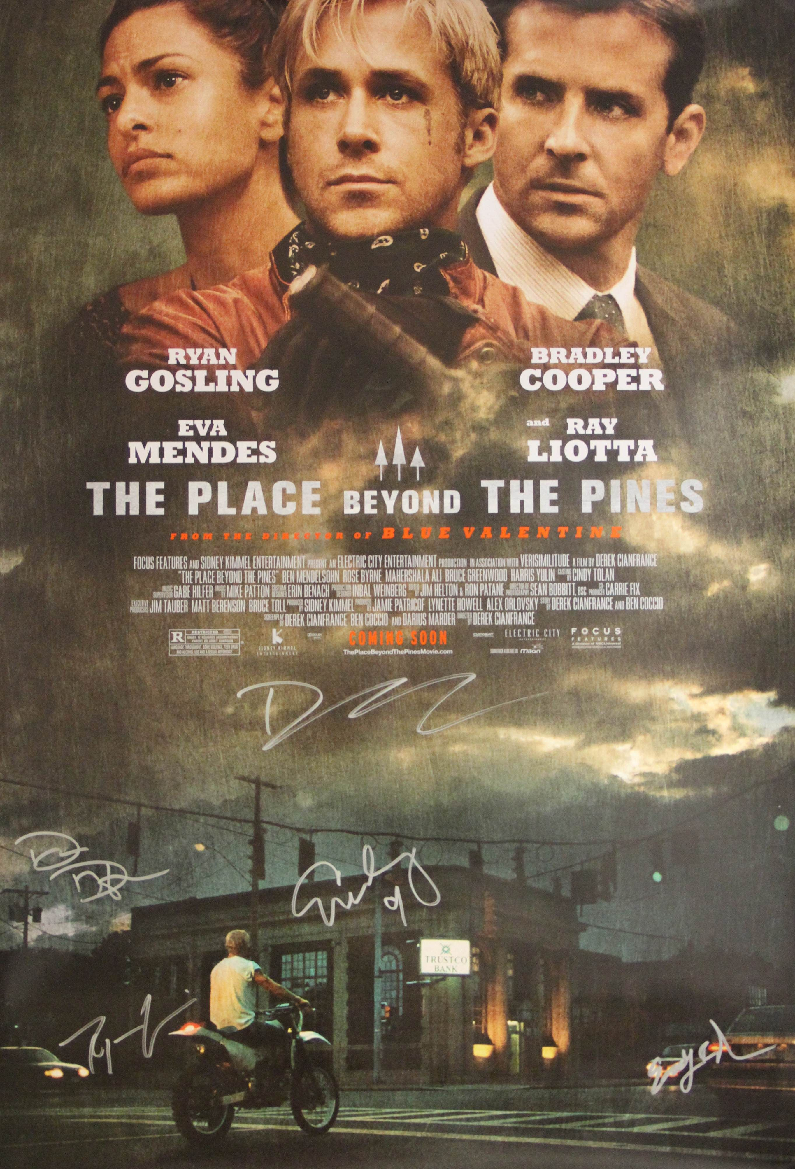 Win A Ryan Gosling Signed Poster From The Place Beyond The Pines
