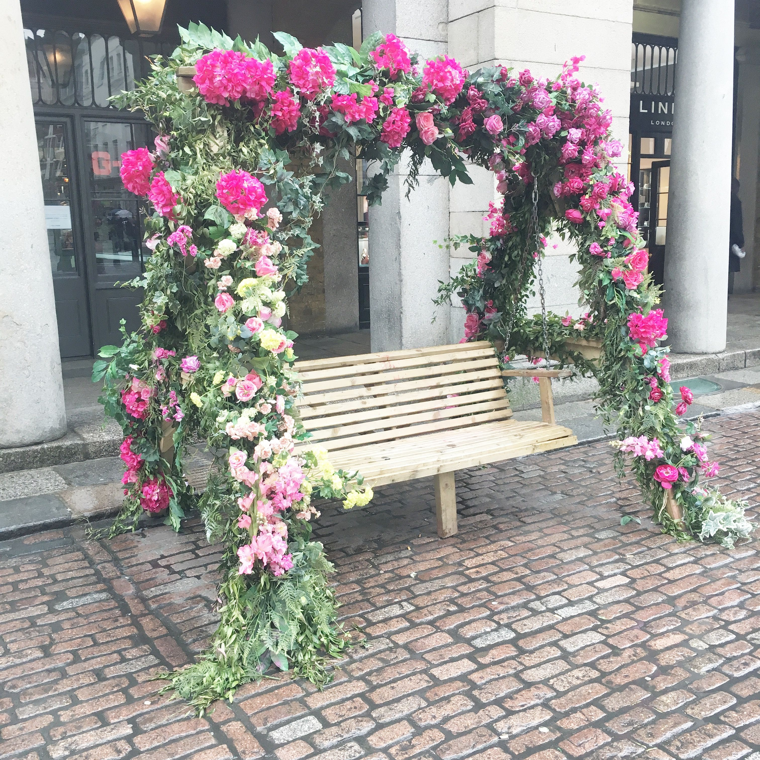 The Flower Bench In Covent Garden Porch Swings London Places Fls