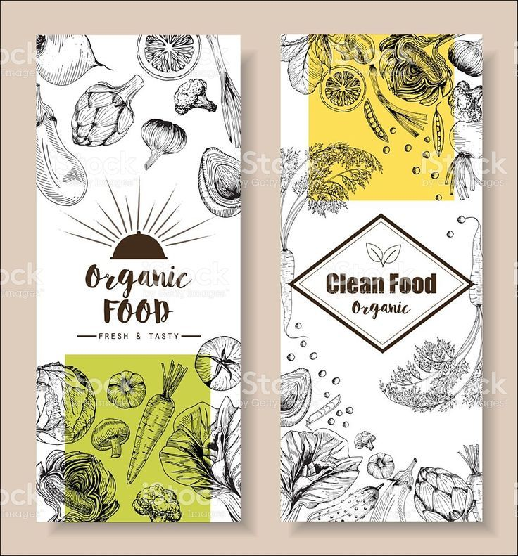 clean food farm fresh drawing doodle style ,cover book or flyer menu    is part of Food menu design - Download this Food Menu Design Vegetable Organic Healthy Drawing Element vector illustration now  And search more of iStock's library of royaltyfree vector art that features Agriculture graphics available for quick and easy download