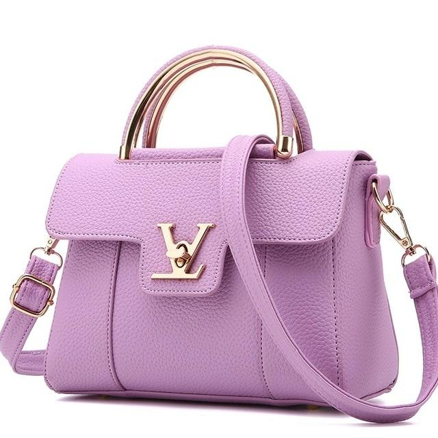 Photo of 2018 Hot Flap V Women's Luxury Leather Clutch Bag Ladies Handbags Brand Women Messenger Bags Sac A Main Femme Famous Tote BagC97 – Medium 2 22cm 11cm