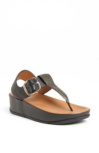 FitFlop 'Tia™' Leather Sandal | Nordstrom