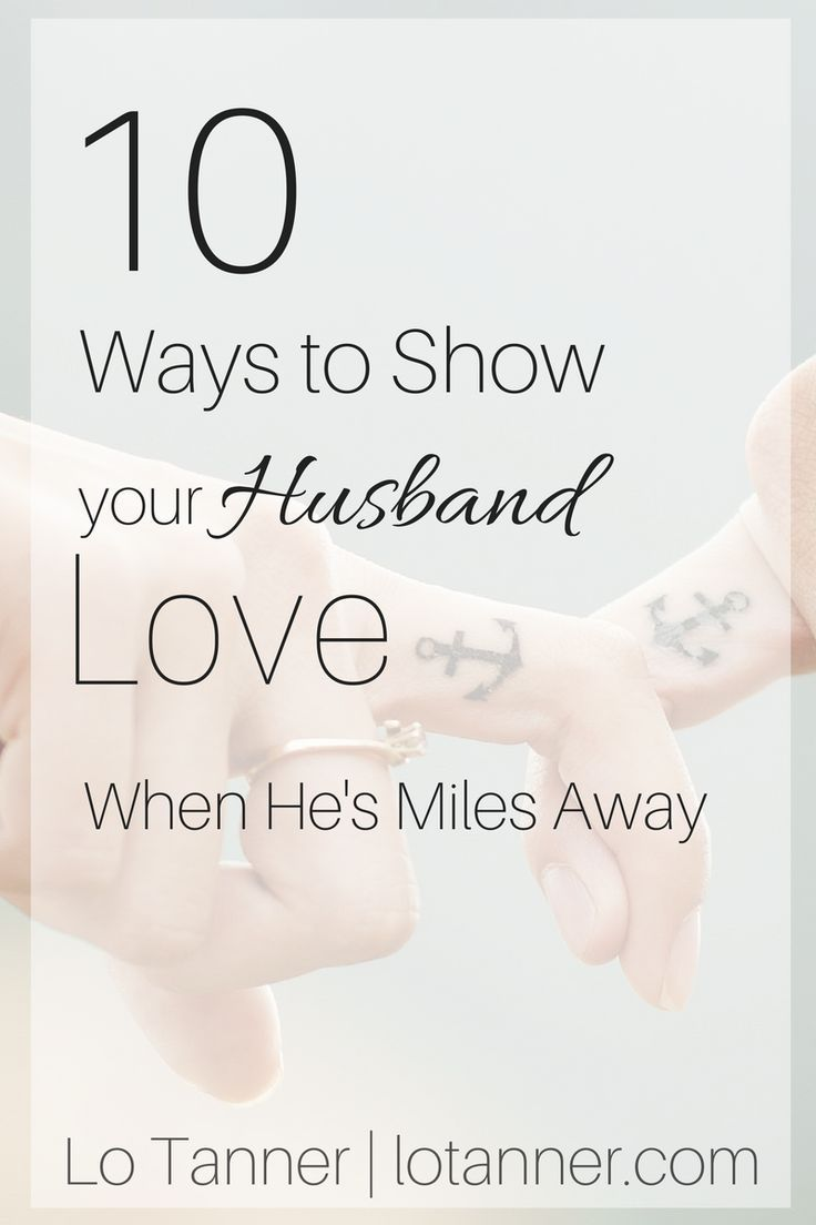 How to maintain long distance relationship with husband
