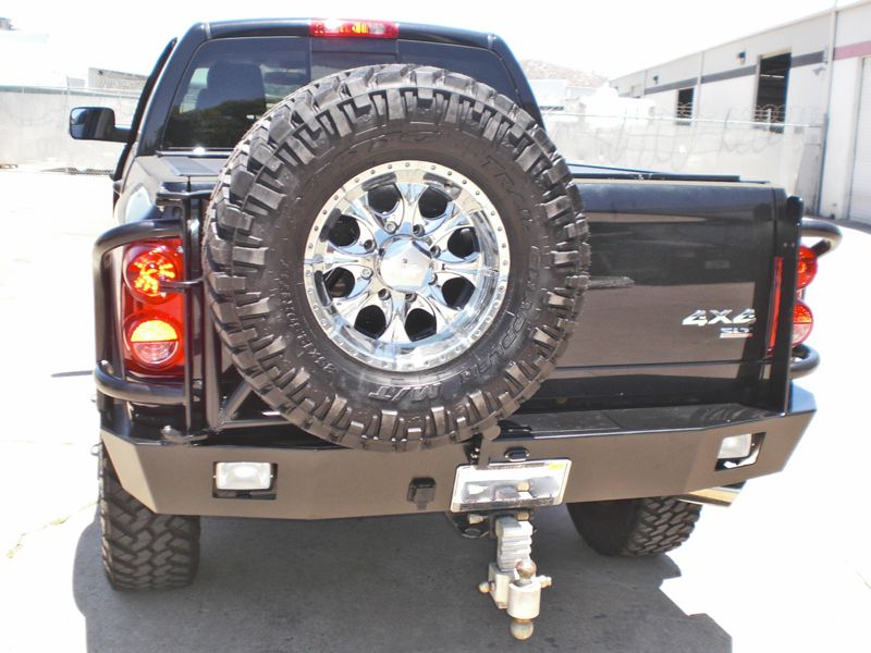 Aluminess Products Dodge Ram Rear Bumper for 20032014