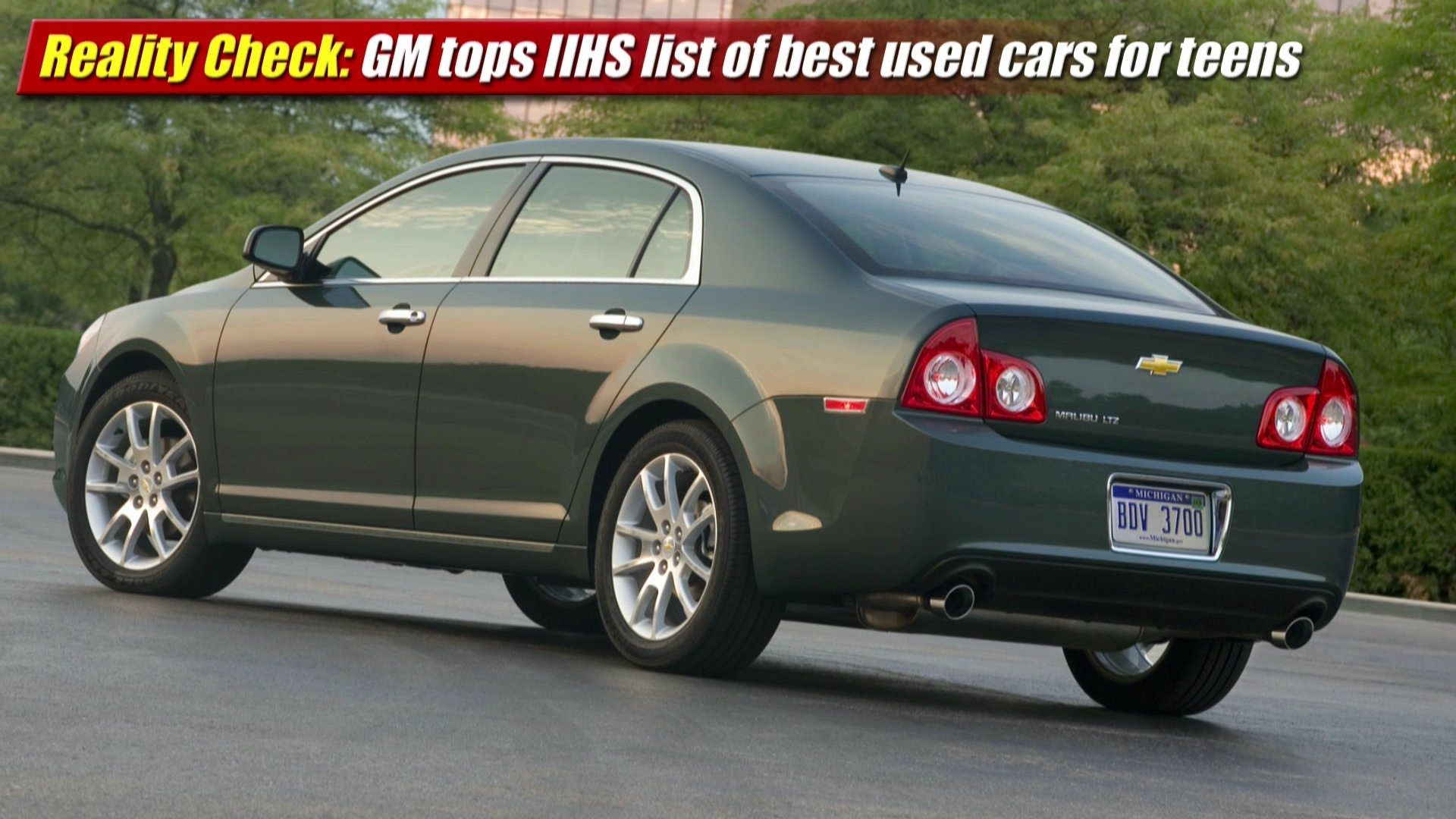 Reality Check Gm Models Top List Of Iihs Used Cars For Teens List