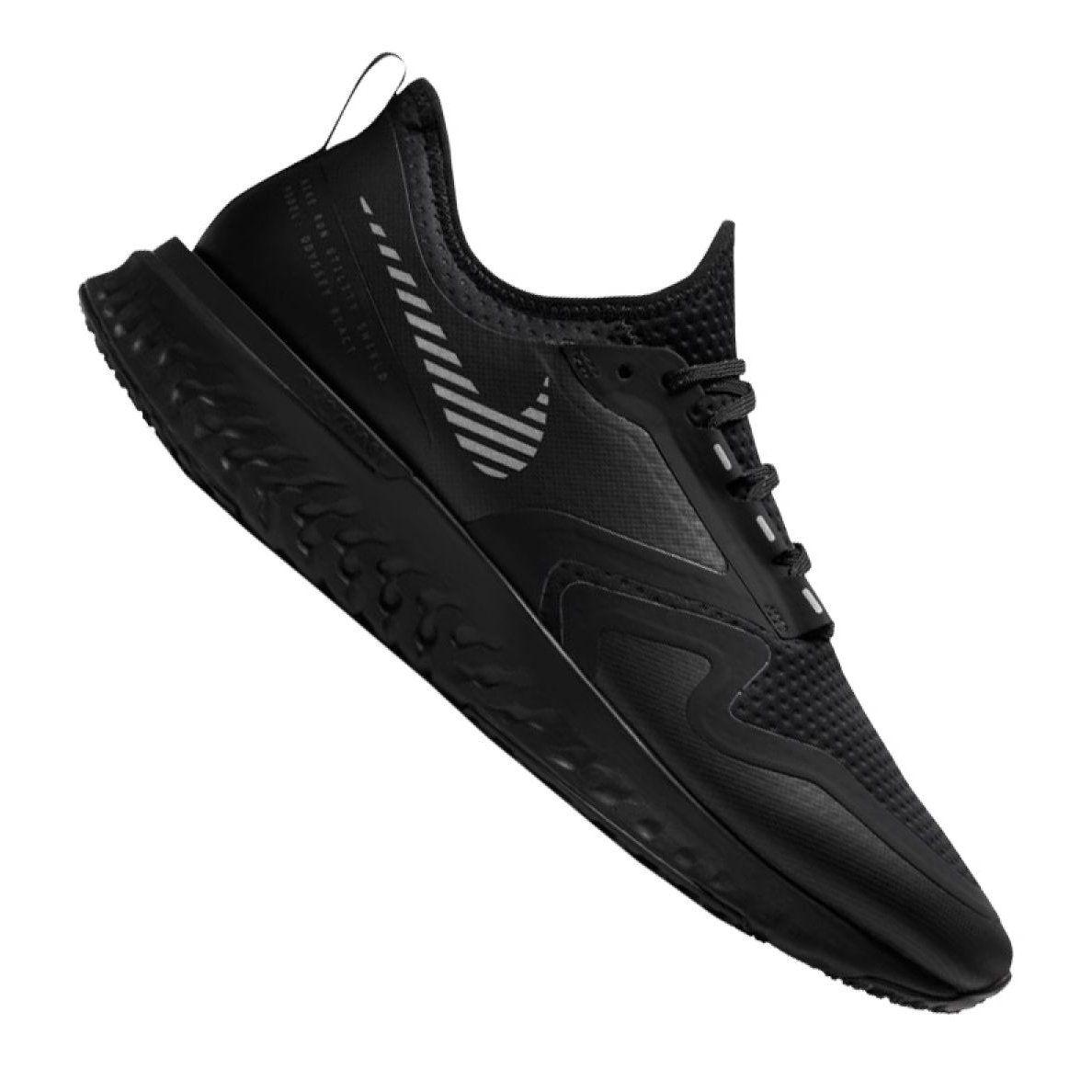 Buty Do Biegania Nike Odyssey React 2 Shield M Bq1671 001 Czarne Black Running Shoes Running Shoes Running Shoes Nike