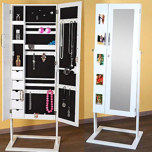 5 fotos bilderrahmen schmuckschrank spiegelschrank schmuckkasten standspiegel ebay schrank. Black Bedroom Furniture Sets. Home Design Ideas