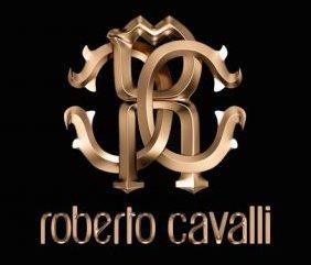Roberto Cavalli Logo Sand